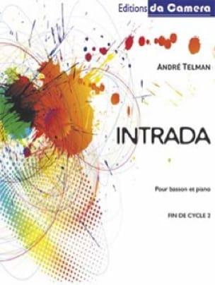 Intrada - André Telman - Partition - Basson - laflutedepan.com