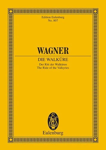 Richard Wagner - el paseo de las valquirias - Partition - di-arezzo.es