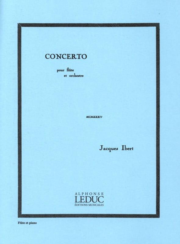 Jacques Ibert - Flute Concerto - Partition - di-arezzo.com