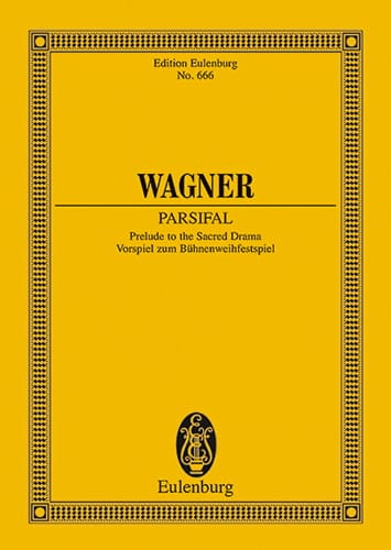 Richard Wagner - Parsifal, Apertura Wwv 111 - Partition - di-arezzo.es