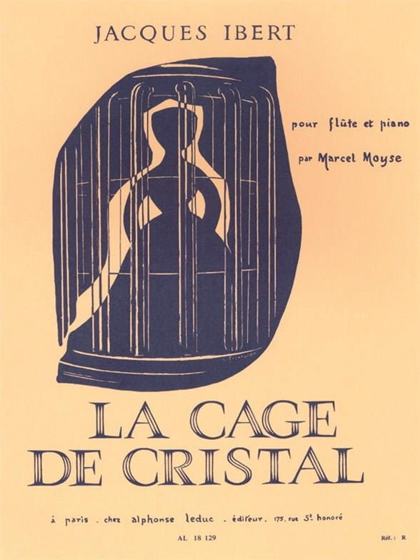 Jacques Ibert - The Crystal Cage Stories No. 8 - Flauta de piano - Partition - di-arezzo.es