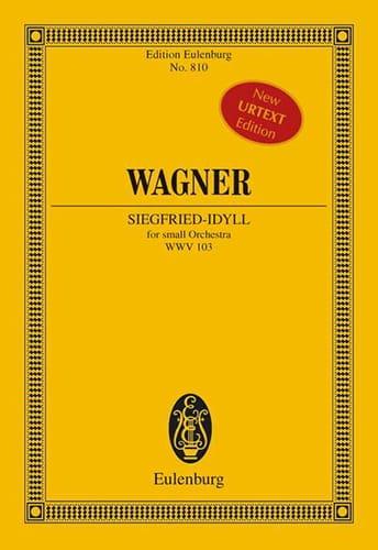 Richard Wagner - Siegfried-Idyll WWV 103 - Parte - Partition - di-arezzo.es