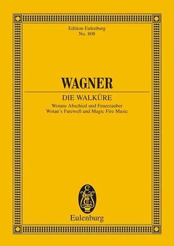 Richard Wagner - Watans Abschied und Feuerzauber WWV 86B - Partition - di-arezzo.es
