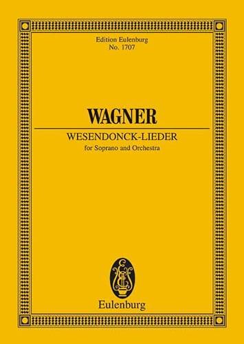 Wesendonck-Lieder Wwv 91 - Poche - WAGNER - laflutedepan.com