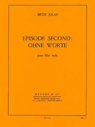 Episode second : ohne Worte - Flûte Seule - laflutedepan.com