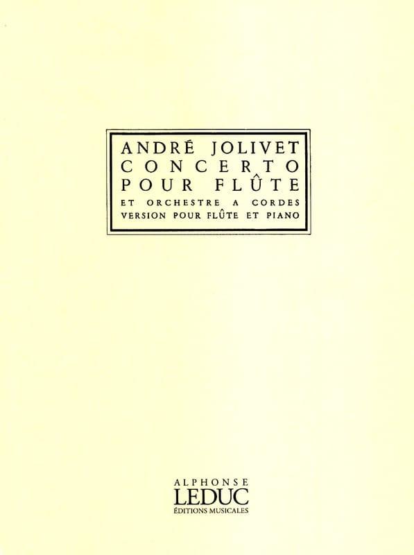 André Jolivet - Flute Concerto - Partition - di-arezzo.co.uk