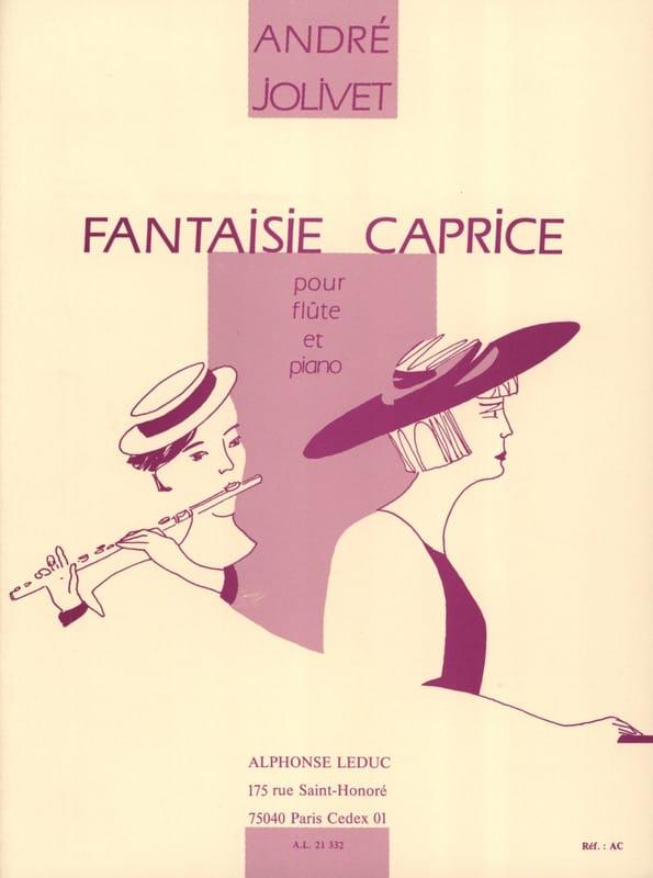 André Jolivet - Fantasy whim - Partition - di-arezzo.com