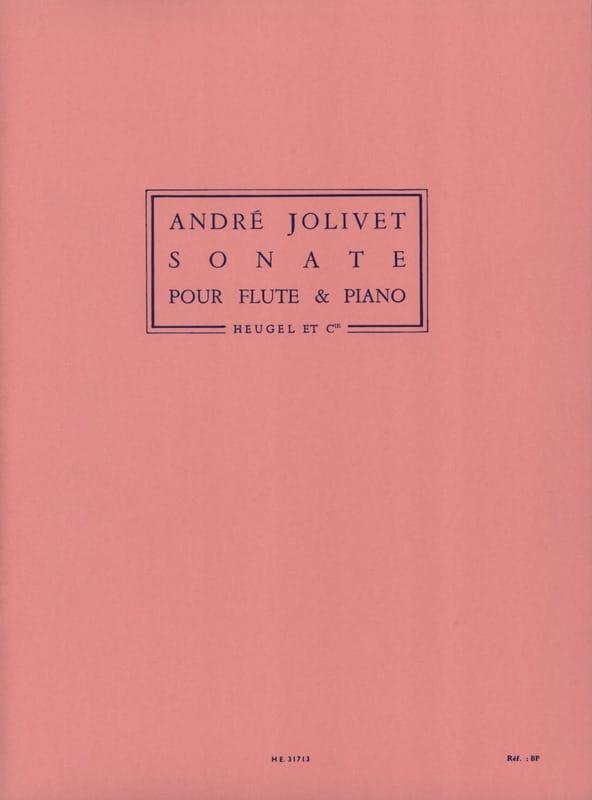 André Jolivet - Sonate - Piano flute - Partition - di-arezzo.com