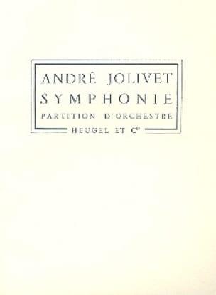 Symphonie N° 1 - André Jolivet - Partition - laflutedepan.com