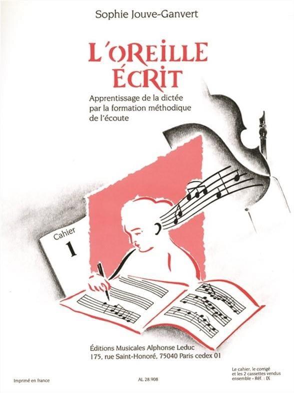 L'oreille Ecrit - Volume 1 + 2 CD - laflutedepan.com