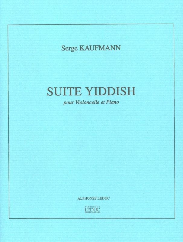 Suite Yiddish - Violoncelle piano - Serge Kaufmann - laflutedepan.com