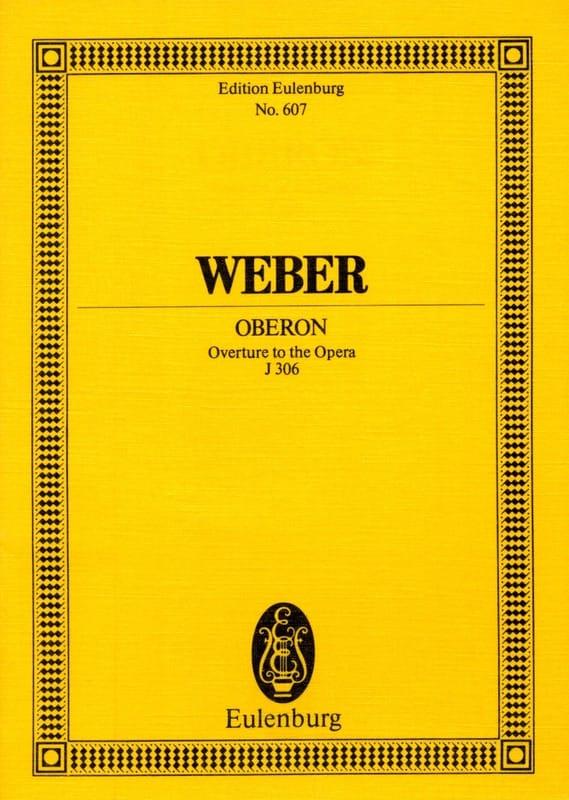 Carl Maria von Weber - Oberon, Ouverture - Partitur - Partition - di-arezzo.co.uk