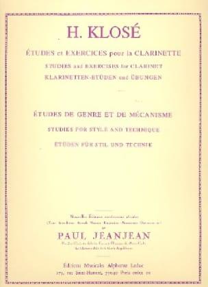 Hyacinthe Klosé - Gender and Mechanism Studies - Partition - di-arezzo.com