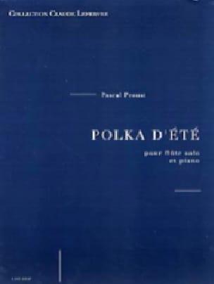 Polka d'été - Pascal Proust - Partition - laflutedepan.com