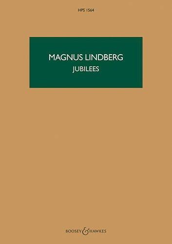 Jubilees - Magnus Lindberg - Partition - laflutedepan.com