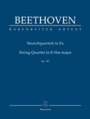 Quatuor à Cordes en Mib Majeur Opus 127 - BEETHOVEN - laflutedepan.com
