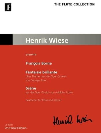 François Borne - Brilliant Fantasy on Carmen / Scene - Partition - di-arezzo.com