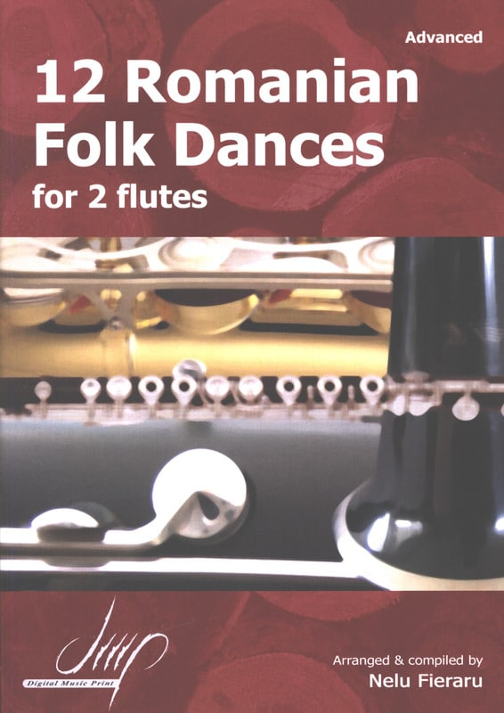 12 Romanian Folk Dances - Traditionnels - Partition - laflutedepan.com