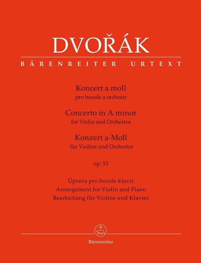 Concerto pour Violon op. 53 - Violon et Piano - laflutedepan.com