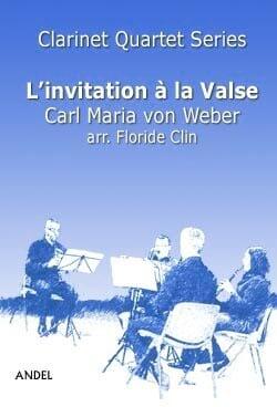 L'Invitation à la Valse - 4 Clarinettes - laflutedepan.com