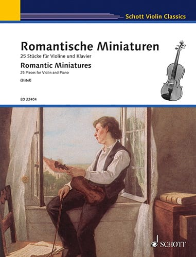 - Romantic Miniatures - Violin and Piano - Partition - di-arezzo.com