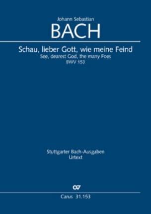 Cantate BWV 153 - Conducteur - BACH - Partition - laflutedepan.com