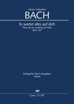 Cantate BWV 187 - Conducteur - BACH - Partition - laflutedepan.com