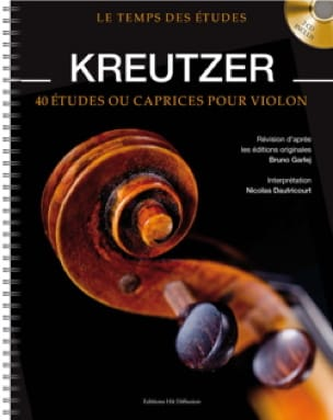 Rodolphe Kreutzer - 40 Studies or Caprices for Violin - Partition - di-arezzo.co.uk