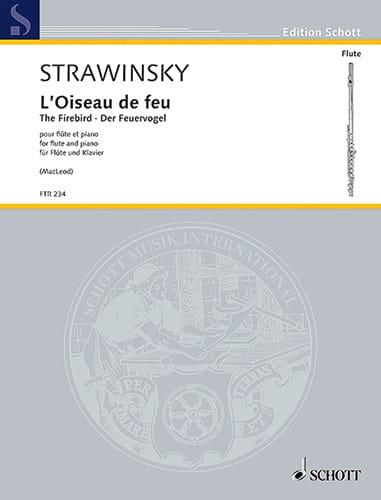 L'Oiseau de Feu - Flûte et Piano - STRAVINSKY - laflutedepan.com