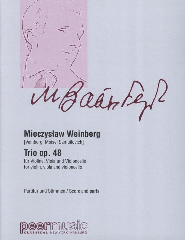 Trio op. 48 - Mieczyslaw Weinberg - Partition - laflutedepan.com