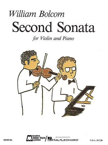 William Bolcom - Segunda Sonata para Violín y Piano - Partition - di-arezzo.es
