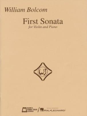 William Bolcom - Primera Sonata para Violín y Piano - Partition - di-arezzo.es