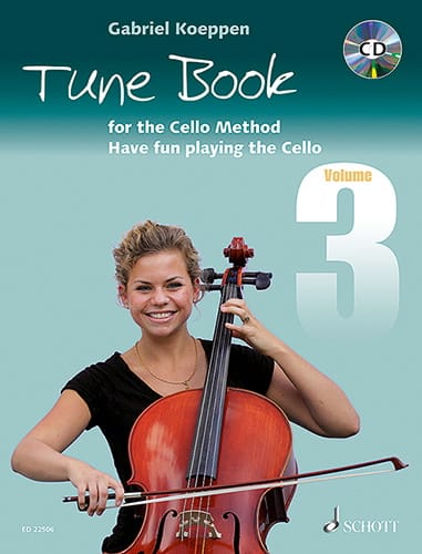 Tune Book for the Cello Method - Volume 3 - laflutedepan.com