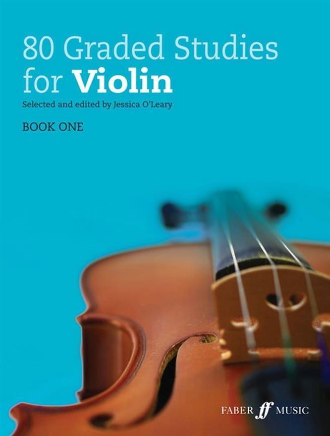 - 80 Graded Studies Vol. 1 - Violon - Partition - di-arezzo.fr