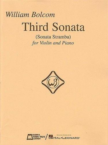 William Bolcom - 3ra Sonata - Sonata Stramba - Partition - di-arezzo.es