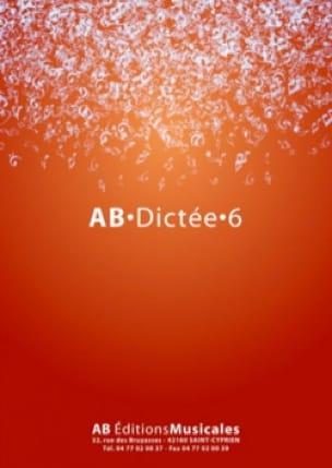 AB Dictée 6 - Partition - Solfèges - laflutedepan.com