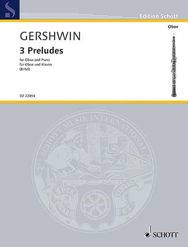 3 Préludes - GERSHWIN - Partition - Hautbois - laflutedepan.com