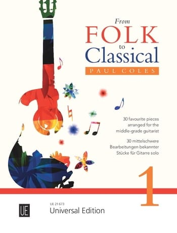 From Folk to Classical Vol. 1 - Partition - laflutedepan.com