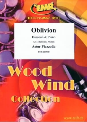 Oblivion - Astor Piazzolla - Partition - Basson - laflutedepan.com