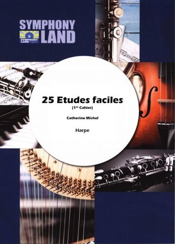 25 études faciles - Catherine Michel - Partition - laflutedepan.com