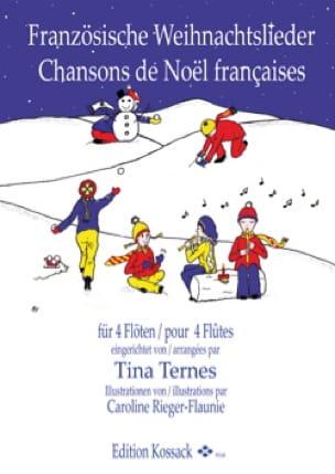 - Chansons de Noël Françaises - 4 Flûtes - Partition - di-arezzo.fr