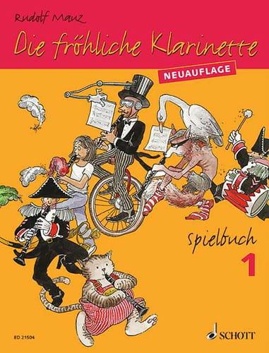 Die Fröhliche Klarinette - Spielbuch 1 - laflutedepan.com