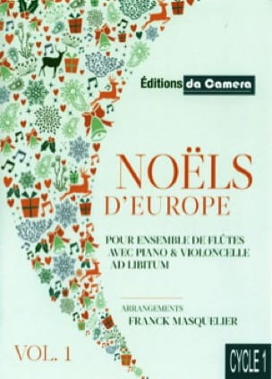 - Noëls d'Europe - Vol. 1 - Partition - di-arezzo.fr