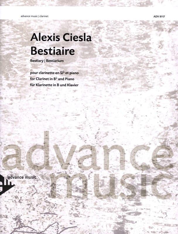 Alexis Ciesla - Bestiary - Partition - di-arezzo.com