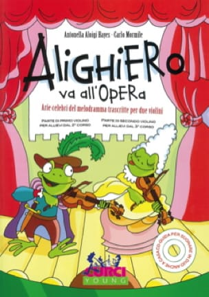 Alighiero va all'Opera - Partition - Violon - laflutedepan.com