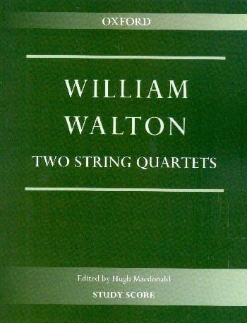 2 Quatuors à Cordes - Conducteur - William Walton - laflutedepan.com