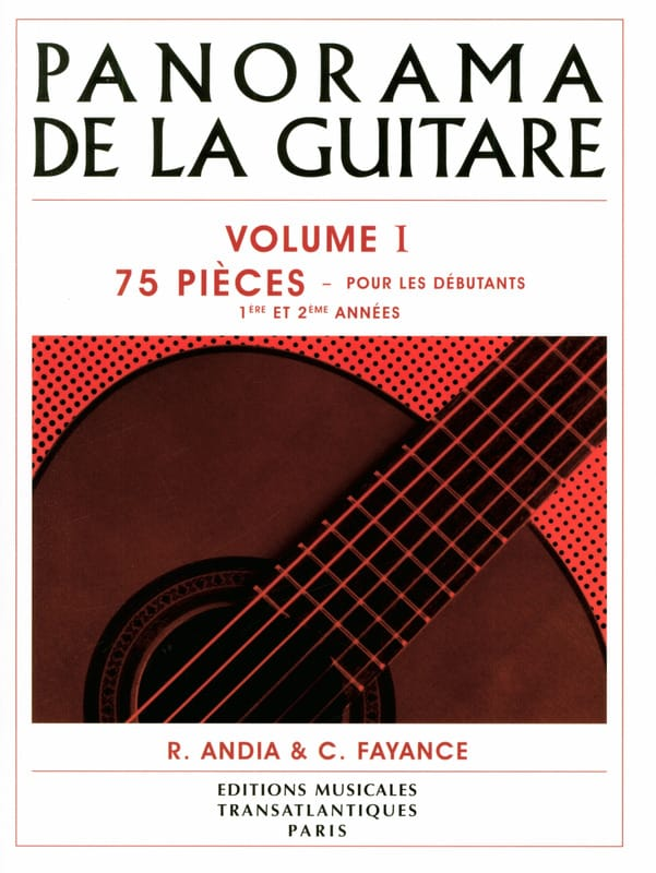 - Panorama of the Guitar - Volume 1 - Partition - di-arezzo.co.uk