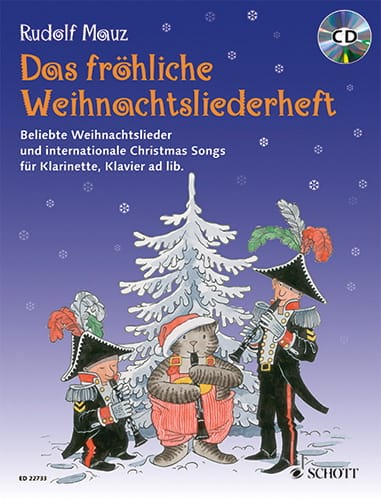 Das Fröhliche Weihnachtsliederheft - Rudolf Mauz - laflutedepan.com