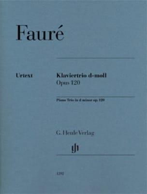 Gabriel Fauré - Trío con piano en re menor op. 120 - Partition - di-arezzo.es
