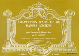 - Melodías de adaptación antiguas danzas - Volumen 1 - Partition - di-arezzo.es